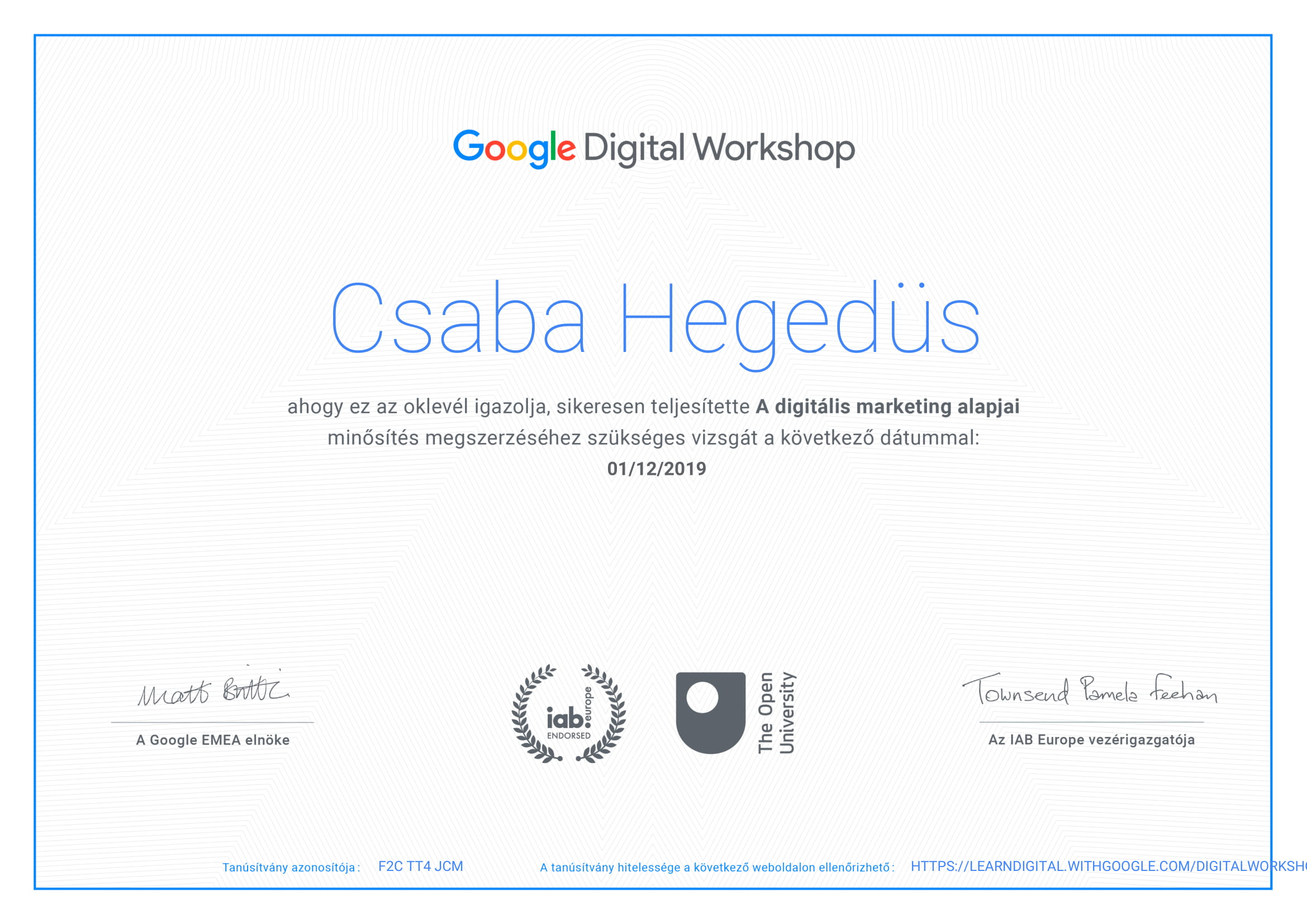 Google Digital Workshop bjrd.hu